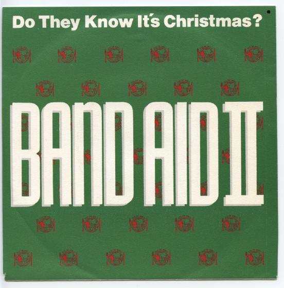 "BAND AID II ""Do they know it's Christmas"""
