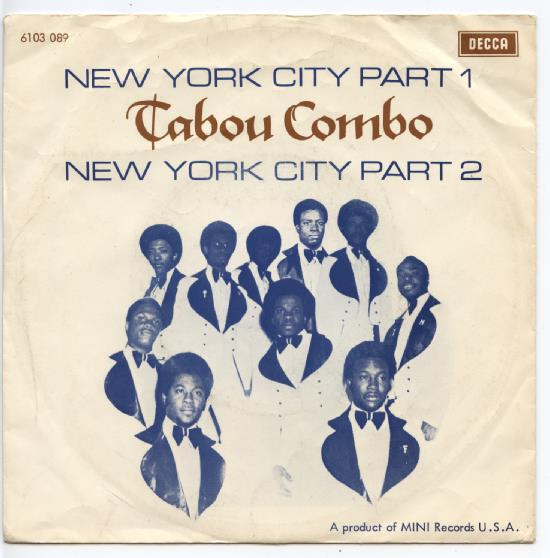 "TABOU COMBO ""New York City"""
