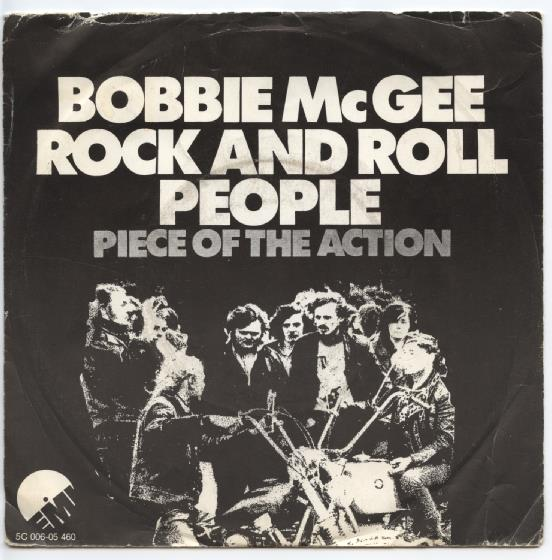 "BOBBIE McGEE ""Rock and Roll people"""