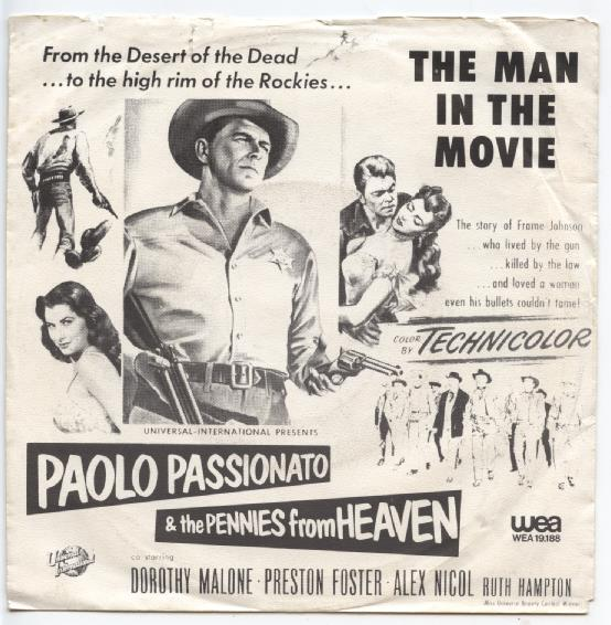 "PAOLO PASSIONATO & THE PENNIES ""The men in the movies"""