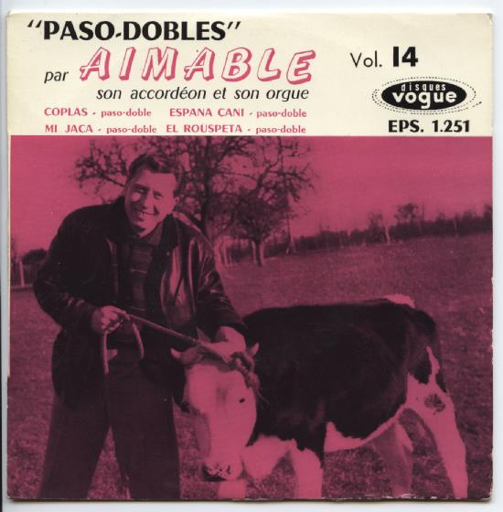 "AIMABLE ""Vol. 14 Paso - Dobles"" EP"