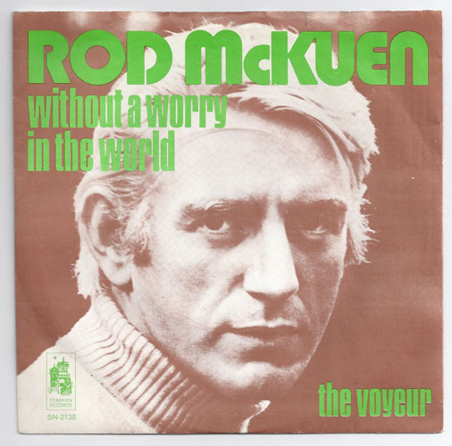 "ROD McKUEN ""Without a worry in the world"""